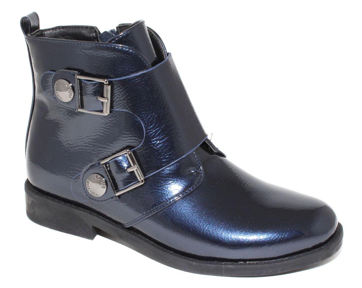 БотинкиF6000Стильные детские ботинки Капитошка для девочки выполнены из искусственной кожи. Изделие в области подъема украшено декоративными ремешками с металлической фурнитурой. Подкладка и стелька, выполненные из текстиля, обеспечат детским ножкам комфорт и уют. Удобные ботинки - необходимая вещь в гардеробе каждого ребенка.