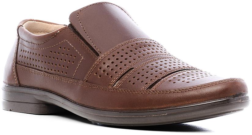 Туфли44110Элегантные мужские туфли отлично дополнят ваш деловой образ. Модель выполнена из высококачественной натуральной кожи. Резинки, расположенные на подъеме, обеспечивают оптимальную посадку модели на ноге. Кожаная стелька с супинатором обеспечивает максимальный комфорт при движении. Подошва с рифлением обеспечивают отличное сцепление с поверхностью.