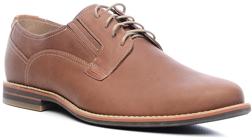 Туфли27975Элегантные мужские туфли от Marko отлично дополнят ваш деловой образ. Модель выполнена из высококачественной натуральной кожи. Классическая шнуровка на подъеме обеспечит оптимальную посадку модели на ноге. Кожаная стелька с супинатором обеспечивает максимальный комфорт при движении. Умеренной высоты каблук и подошва с рифлением обеспечивают отличное сцепление с поверхностью.