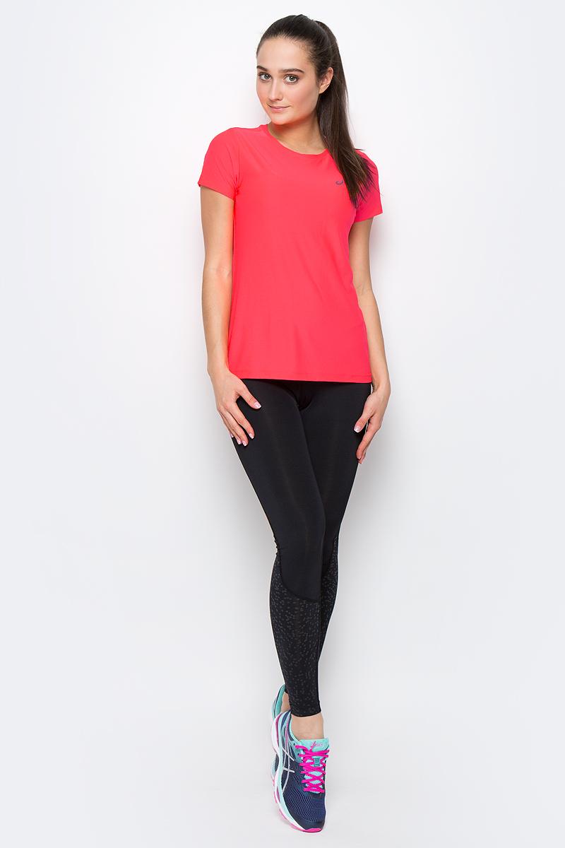 134104-0688Женская футболка Asics SS Top изготовлена из высококачественного полиэстера. Модель с короткими рукавами и круглым вырезом горловины имеет комфортные плоские швы. Изделие оформлено светоотражающим логотипом бренда.
