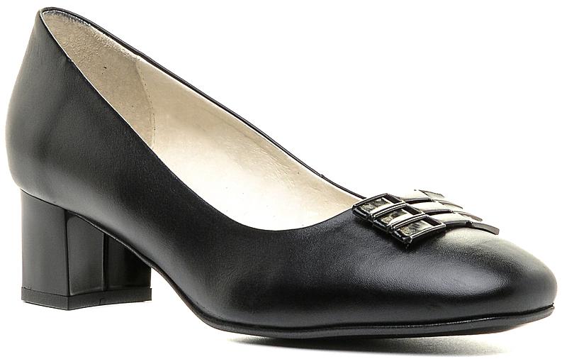 Туфли131271Элегантные туфли на невысоком каблуке, выполненные из натуральной кожи. Внутренняя поверхность и стелька из натуральной кожи обеспечат комфорт при движении. Эти туфли можно сочетать с самыми разнообразными вещами вашего гардероба, в них вашим ногам будет комфортно и уютно.