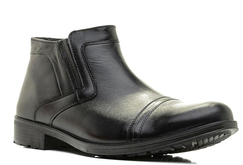Ботинки42067Элегантные мужские ботинки отлично дополнят ваш деловой образ. Модель выполнена из высококачественной натуральной кожи. Резинка, расположенная на подъеме, обеспечивает оптимальную посадку модели на ноге. Текстильная стелька и внутренняя поверхность обеспечат комфорт. Подошва оснащена рифлением.