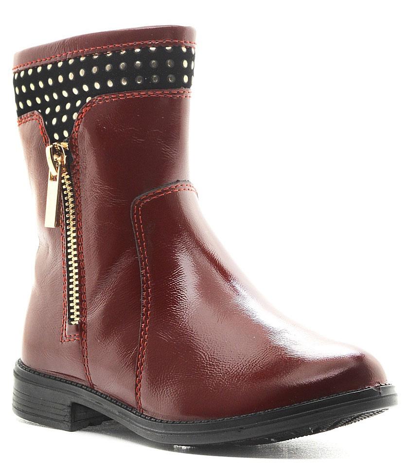 Сапоги5938Стильные сапоги отлично дополнят гардероб вашей модницы. Модель выполнена из высококачественной натуральной кожи и застегивается на молнию с одной из боковых сторон. Внутренняя поверхность и стелька из текстиля обеспечат комфорт ногам. Подошва с рифлением обеспечивают отличное сцепление с поверхностью.