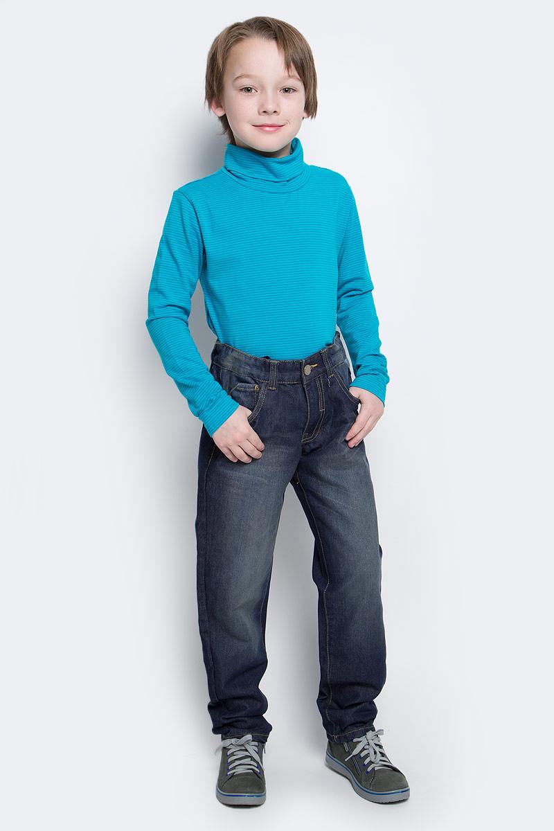 Джинсы216BBBC6304D100Джинсы гарантируют отличный внешний вид и хорошее настроение! Модный силуэт, удобная посадка на фигуре создают комфорт и свободу движений. Выполнены из высококачественного материала.