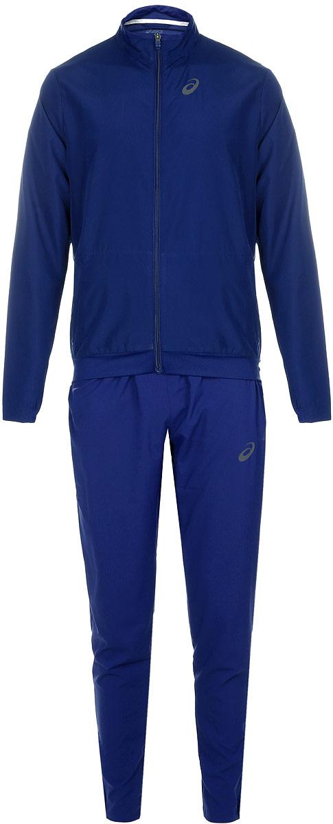 Спортивный костюм141161-0904Мужской спортивный костюм Asics M Club Suit включает в себя олимпийку и спортивные брюки. Благодаря особой системе контроля над потом, ткань этого костюма эффективно впитывает пот и обеспечивает сухость и комфорт. Вставки из сетчатого материала гарантируют легкость движений и дают дополнительную вентиляцию, чтобы вы могли двигаться быстро и эффективно. Олимпийка с длинными рукавами и воротником-стойкой застегивается на застежку-молнию спереди. Модель изготовлена из высококачественного полиэстера. Изделие дополнено двумя втачными карманами на застежках- молниях спереди. Объем капюшона регулируется при помощи шнурка-кулиски. Брюки прямого кроя и средней посадки имеют широкую эластичную резинку на поясе. Объем талии регулируется при помощи шнурка-кулиски. Комфортные эластичные швы не стесняют движений и исключают натирание даже во время интенсивных тренировок. Спереди расположены два втачных кармана. Брючины дополнены застежками-молниями снизу.