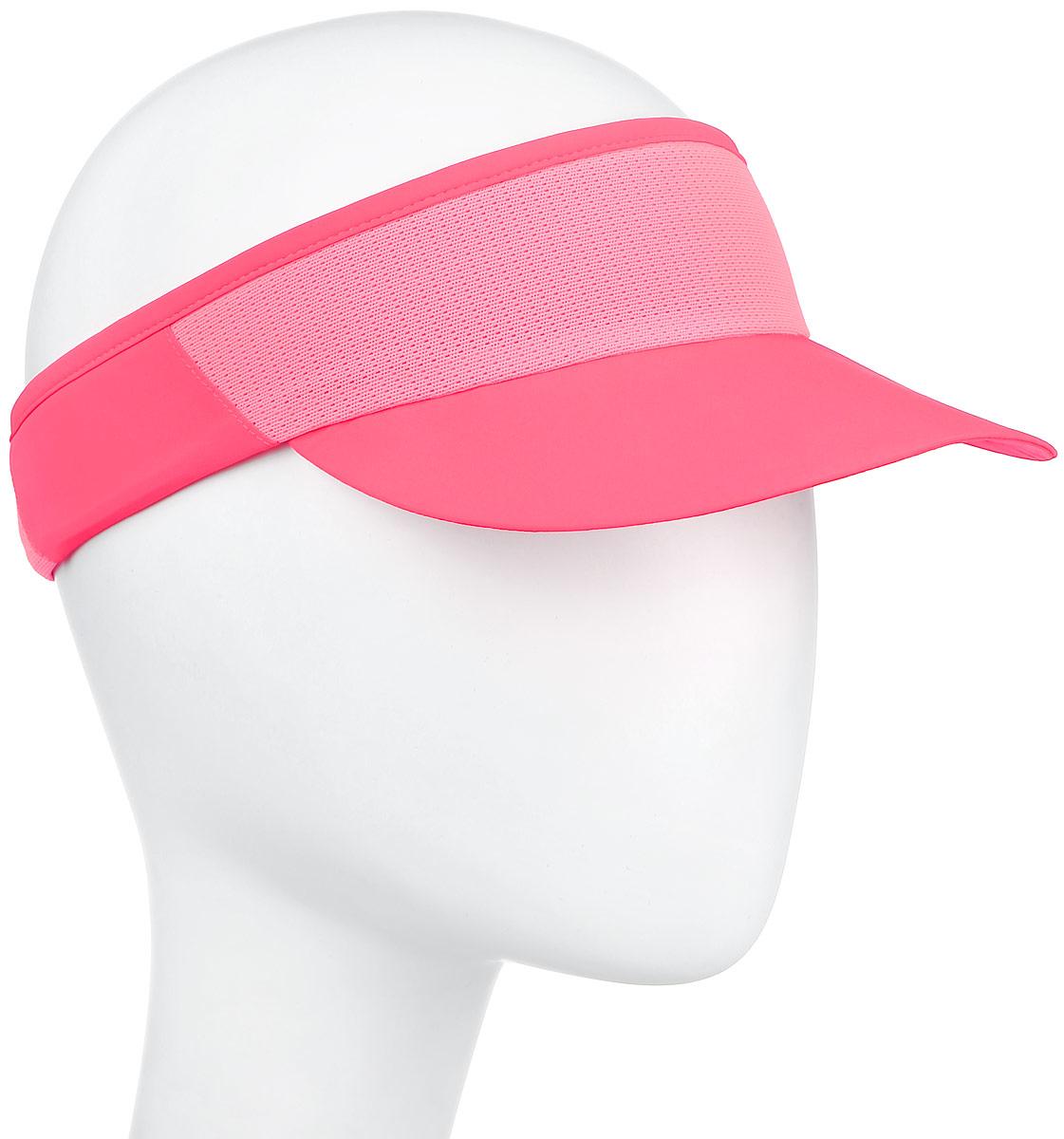Козырек132060-0001Козырек Asics Performance Visor, выполненный из 100% полиэстера, защитит ваши глаза от солнца. Легкий козырек дополнен сетчатыми вставками, обеспечивающими необходимую вентиляцию. Модель дополнена светоотражающим принтом с логотипом бренда. Уважаемые клиенты! Размер, доступный для заказа, является обхватом головы.