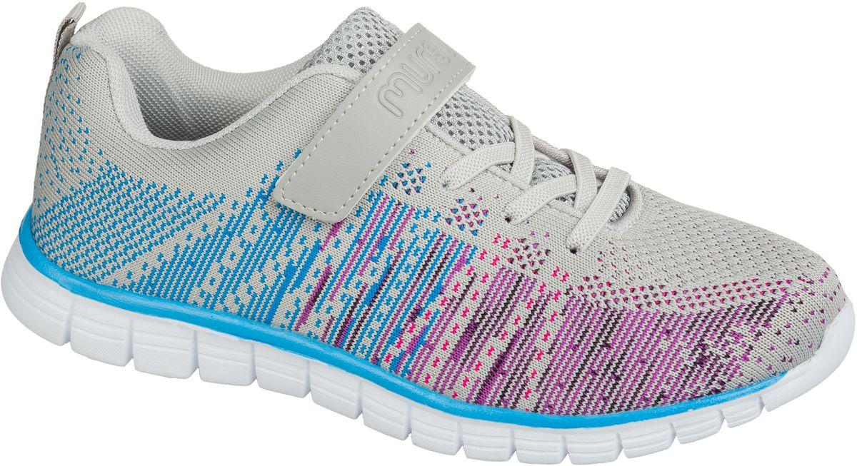 Кроссовки101570Стильные кроссовки от Mursu предназначены для занятий спортом и повседневной носки. Модель выполнена из качественного текстиля с оригинальным принтом. На заднике предусмотрена петелька для удобства обувания. Хлястик с липучкой и удобная шнуровка прочно закрепят модель на ноге. Подкладка и стелька из текстиля и натуральной кожи гарантируют комфорт при носке. Гибкая подошва с рифлением обеспечивает идеальное сцепление с разными поверхностями.