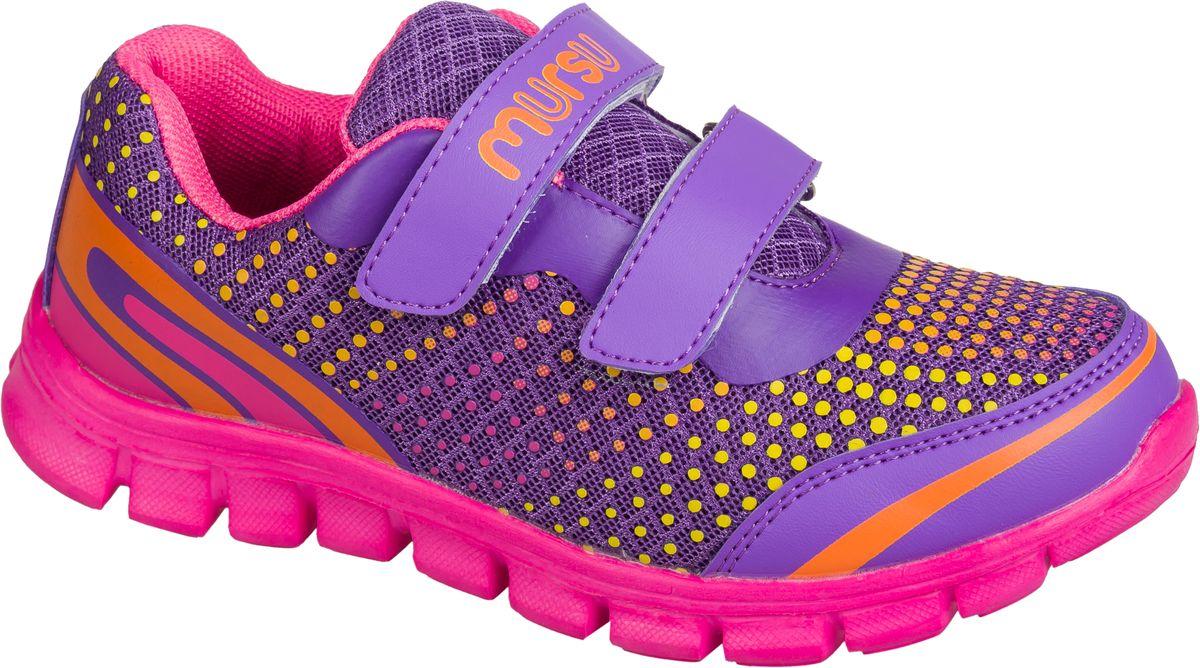 Кроссовки101554Стильные кроссовки от Mursu предназначены для занятий спортом и повседневной носки. Модель выполнена из качественного текстиля с элементами из искусственной кожи и оформлена оригинальным принтом. На заднике предусмотрена петелька для удобства обувания. Хлястики с липучками прочно закрепят модель на ноге. Подкладка и стелька из текстиля и натуральной кожи гарантируют комфорт при носке. Гибкая подошва с рифлением обеспечивает идеальное сцепление с разными поверхностями.