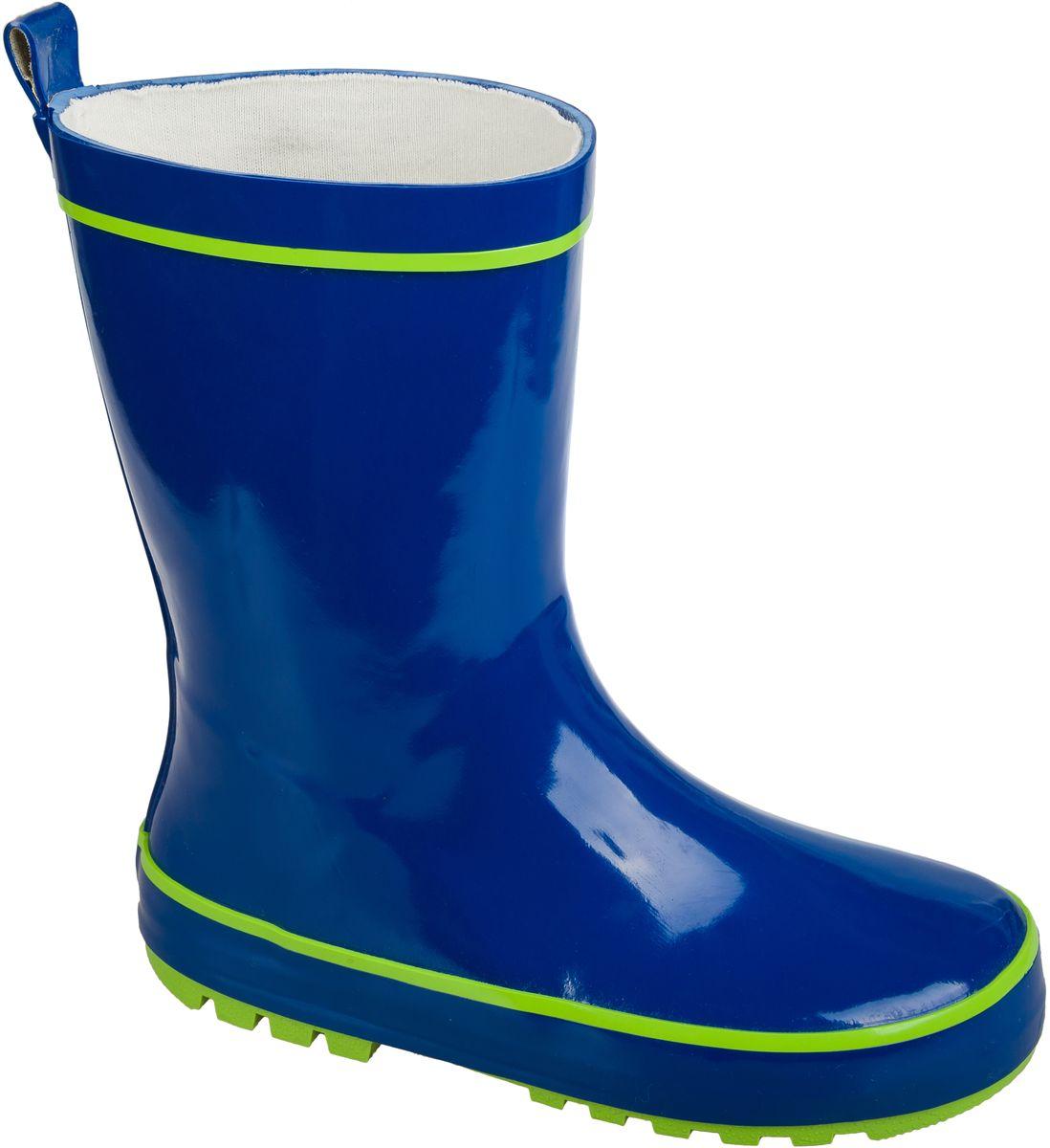 Резиновые сапоги101442Резиновые сапоги от фирмы Mursu выполнены из качественной резины. Хлопковая подкладка и стелька сохранят тепло и обеспечат полный уют и комфорт при носке. Рельефная резиновая подошва устойчива к истиранию и гарантирует отличное сцепление с любой поверхностью. Такие практичные резиновые сапоги займут достойное место в гардеробе вашего ребенка.