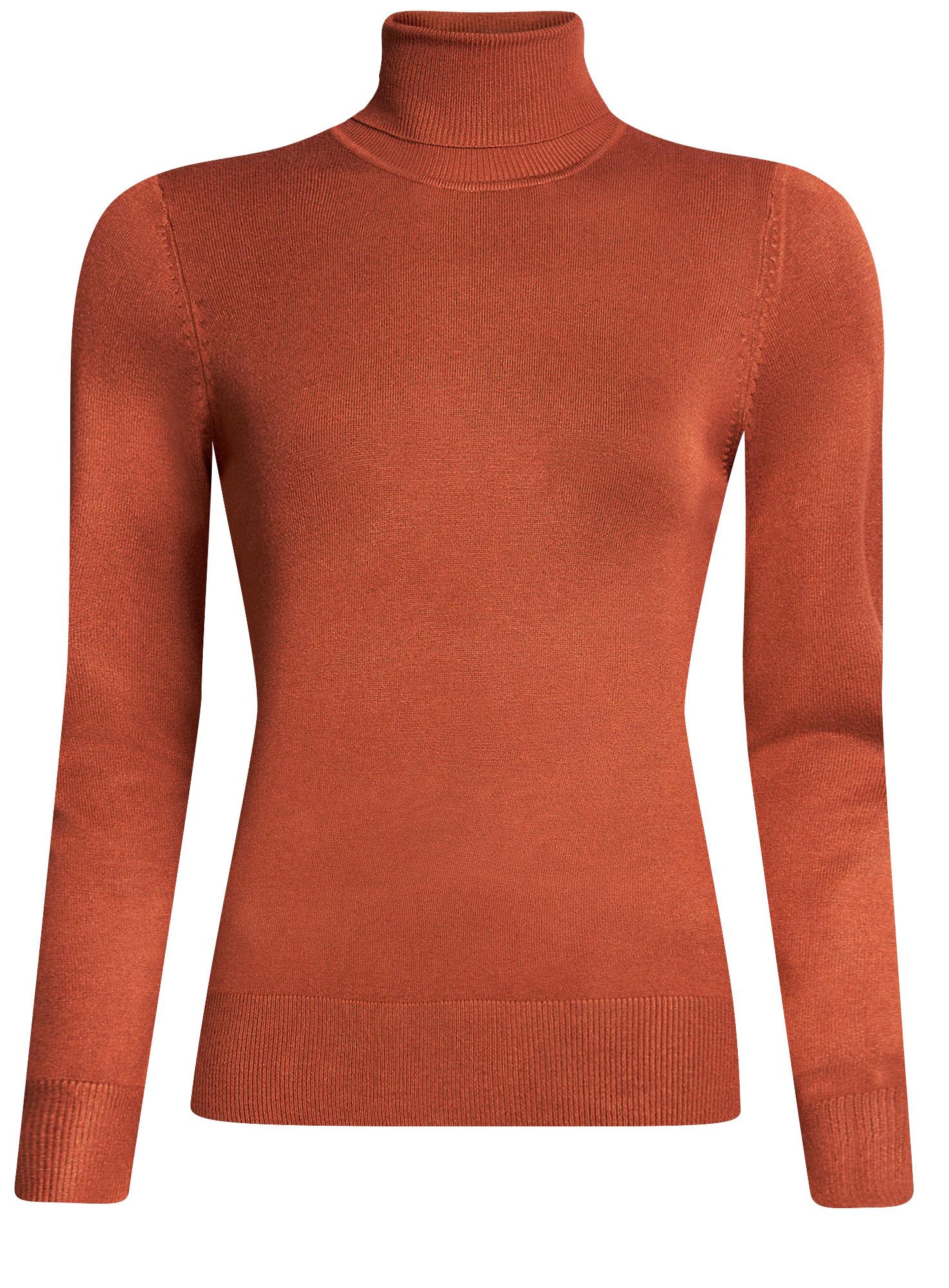 Свитер74412005-6/24525/4C00NСвитер женский oodji Collection выполнен из мягкой облегающей ткани базовых цветов. Имеет длинные рукава и воротник-гольф. Изделие плотно садится по фигуре.