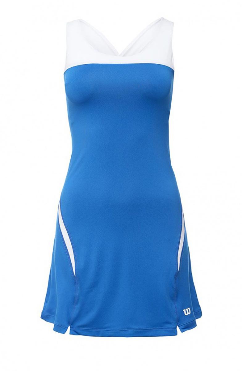 ПлатьеWRA709708Это Платье станет идеальной спортивной формой для покорения теннисного мира. Оно выполнено из правильного материала, который обладает способностью отведения влаги и избавления от нее. Кроме того, эта ткань пропускает воздух, который так необходим для того, чтобы не допустить перегревания тела.