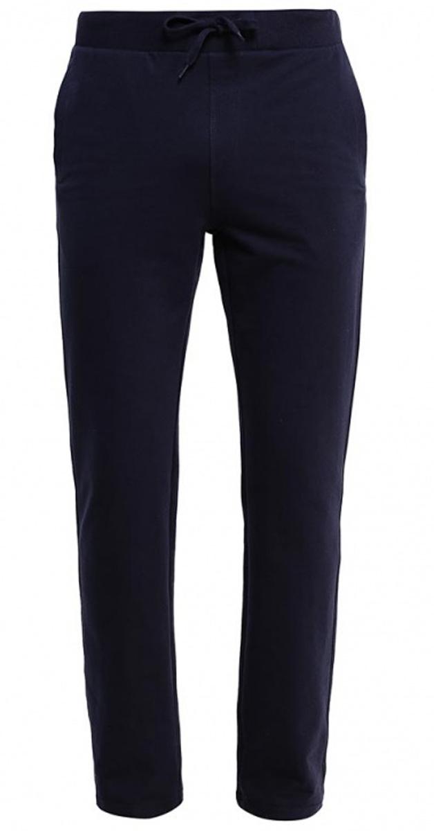 Брюки спортивныеPk-215/053-7141Удобные спортивные брюки для мужчин Sela выполнены из качественного хлопкового материала и дополнены двумя прорезными карманами. Брюки прямого кроя и стандартной посадки на талии имеют широкий пояс на мягкой резинке, дополнительно регулируемый шнурком.