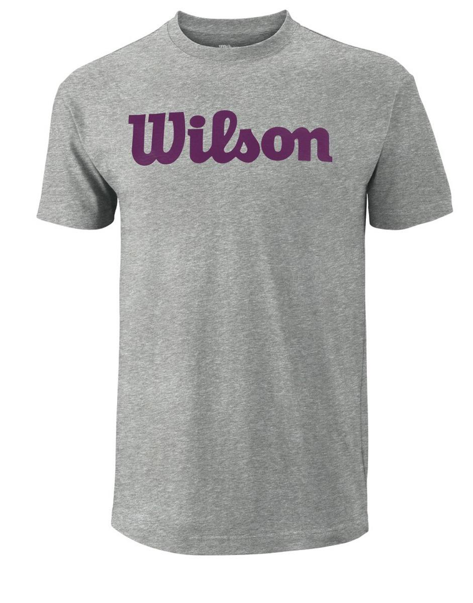 ФутболкаWRA747801Тренировочная футболка с Логотипом Wilson. Спортивный крой для оптимального комфорта.
