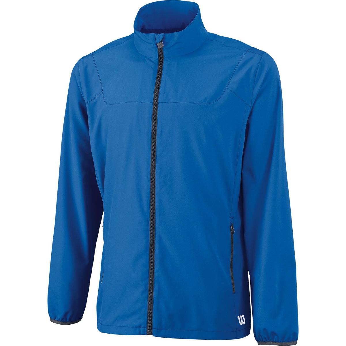 ВетровкаWRA725402Разминочная куртка свободного кроя на молнии по всей длине для игры в большой теннис. Благодаря технологии nanoWIK влага моментально отводится от тела, сохраняя сухость кожи. Эластичные манжеты, воротник-стойка и низ защищают от продувания. Предусмотрены боковые карманы на молниях для хранения небольших предметов.