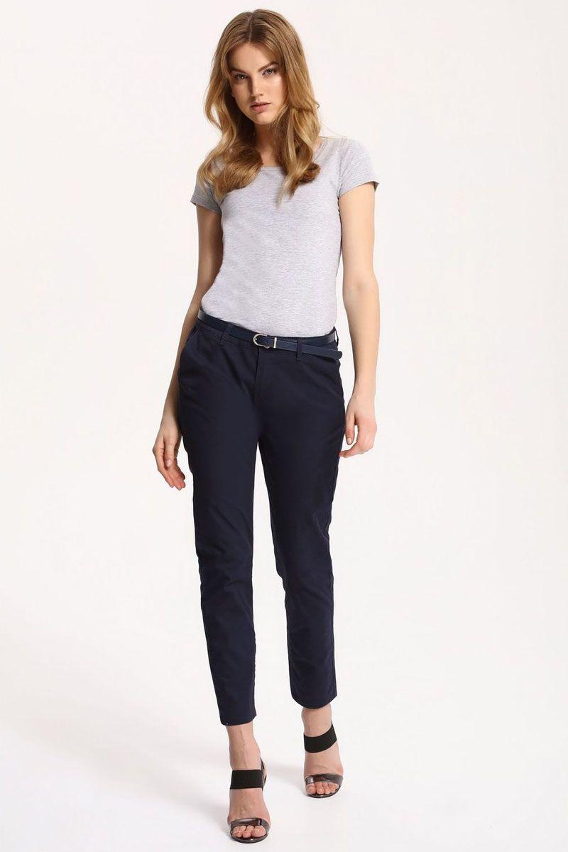 БрюкиSSP2414GRСтильные женские брюки Top Secret - брюки высочайшего качества на каждый день, которые прекрасно сидят. Модель изготовлена из высококачественного комбинированного материала. Эти модные и в тоже время комфортные брюки послужат отличным дополнением к вашему гардеробу. В них вы всегда будете чувствовать себя уютно и комфортно.