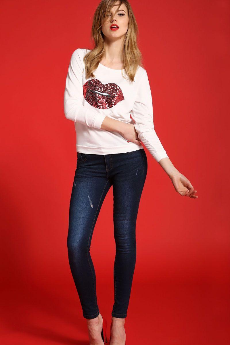 ЛонгсливSBL0474BIЛонгслив женский Top Secret выполнен из полиэстера и вискозы. Модель с круглым вырезом горловины и длинными рукавами.