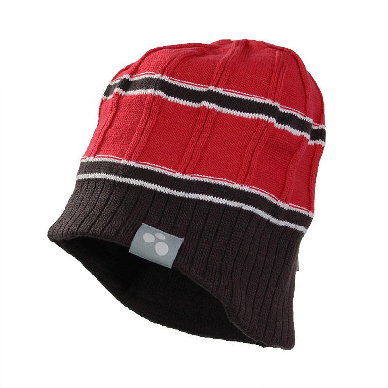 Шапка детская80060000-70004Детская шапка Huppa Jarrod изготовлена из натурального хлопка и акрила. Шапочка с подкладкой слегка удлинена по бокам. С одного края имеется декоративная текстильная нашивка. Уважаемые клиенты! Размер, доступный для заказа, является обхватом головы.