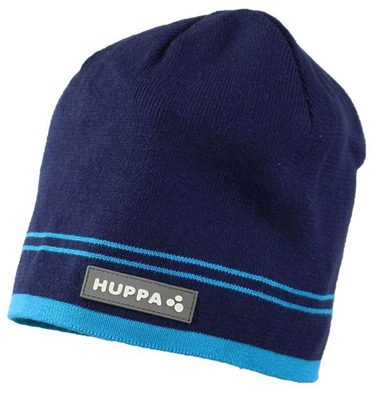 Шапка детская80120000-70009Теплая вязаная шапочка Huppa Tom согреет вашего ребенка в прохладную погоду. Шапочка изготовлена из натурального хлопка и дополнена контрастными полосами.