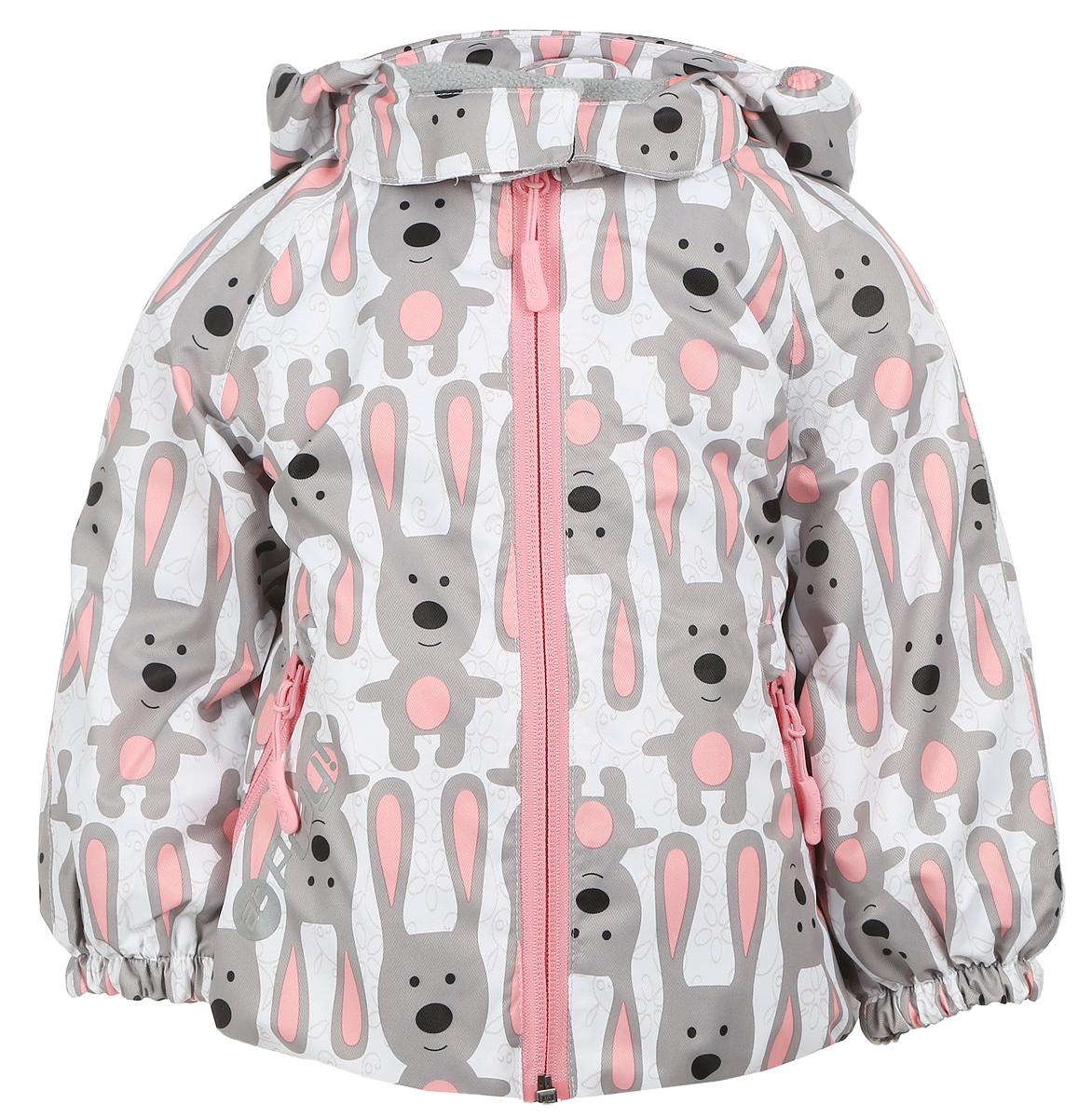 Куртка1jk703Удобная и комфортная куртка для девочки atPlay! выполнена из качественного полиэстера, с покрытием Teflon от DuPont, которое облегчает уход за этой одеждой. Дышащая способность: 5000г/м и водонепроницаемость куртки: 5000мм. Куртка 2 в 1 с отстегивающейся флисовой поддевкой- кофточкой из материала Polar fleese, которая служит как утеплитель, а также ее можно носить отдельно. Такая кофточка отличное решение для весеннего периода, к тому же она изготовлена с антипиллинговой обработкой ворса для сохранения качественных характеристик на более длительный срок. Куртка с воротником-стойкой и отстегивающимся капюшоном застегивается на молнию с защитой подбородка. Капюшон имеет спереди защитный клапан на липучках. Манжеты рукавов, капюшон и низ изделия дополнены эластичными резинками. Спереди модель оформлена двумя прорезными карманами на застежках-молниях, с внутренней стороны на поддевке-кофточке расположены два накладных кармана. Куртка оснащена...
