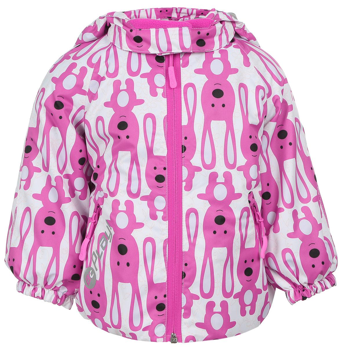1jk703Удобная и комфортная куртка для девочки atPlay! выполнена из качественного полиэстера, с покрытием Teflon от DuPont, которое облегчает уход за этой одеждой. Дышащая способность: 5000г/м и водонепроницаемость куртки: 5000мм. Куртка 2 в1 с отстегивающейся флисовой поддевкой- кофточкой из материала Polar fleese, которая служит как утеплитель, а также ее можно носить отдельно. Такая кофточка отличное решение для весеннего периода, к тому же она изготовлена с антипиллинговой обработкой ворса для сохранения качественных характеристик на более длительный срок. Куртка с воротником-стойкой и отстегивающимся капюшоном застегивается на молнию с защитой подбородка. Капюшон имеет спереди защитный клапан на липучках. Манжеты рукавов, капюшон и низ изделия дополнены эластичными резинками. Спереди модель оформлена двумя прорезными карманами на застежках-молниях, с внутренней стороны на поддевке-кофточке расположены два накладных кармана. Куртка оснащена...