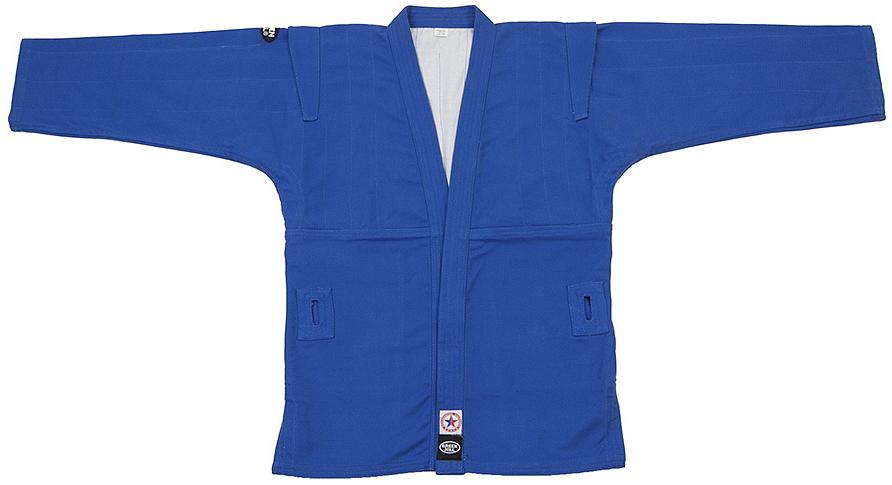 Кимоно для самбоSC-2001Куртка для занятий самбо. Материал куртки 100% хлопок. Куртка изготовлена по всем требованиям федераций самбо РФ. При окраске применяется 100% природный краситель.