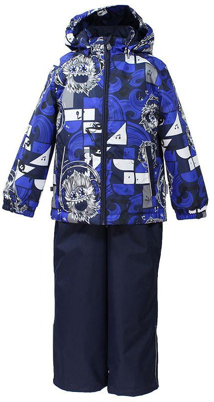 41190114-72209Комплект верхней одежды для мальчика Huppa Yoko выполнен из износостойкого полиэстера и состоит из куртки и брюк. В качестве подкладки и утеплителя используется качественный полиэстер. Брюки застегиваются на молнию и металлическую кнопку. Изделие дополнено съемными резиновыми подтяжками, длину которых можно регулировать. На талии имеется вшитая эластичная резинка. Снизу брючин предусмотрены шнурки-утяжки со стопперами. Куртка со съемным капюшоном и воротником-стойкой застегивается на пластиковую молнию. Капюшон пристегивается при помощи металлических кнопок. Манжеты рукавов собраны на внутренние резинки, низ куртки оснащен эластичным шнурком. Спереди модель дополнена двумя врезными карманами. Комплект оснащен светоотражающими элементами.