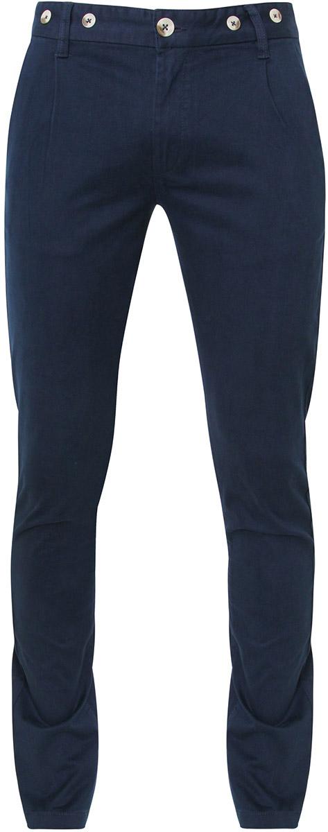 Брюки2L150043M/39794N/7900NМужские брюки oodji Lab выполнены из высококачественного материала. Модель-слим стандартной посадки застегивается на пуговицу в поясе и ширинку на застежке-молнии. Пояс имеет шлевки для ремня. Спереди брюки дополнены втачными карманами, сзади - прорезными.