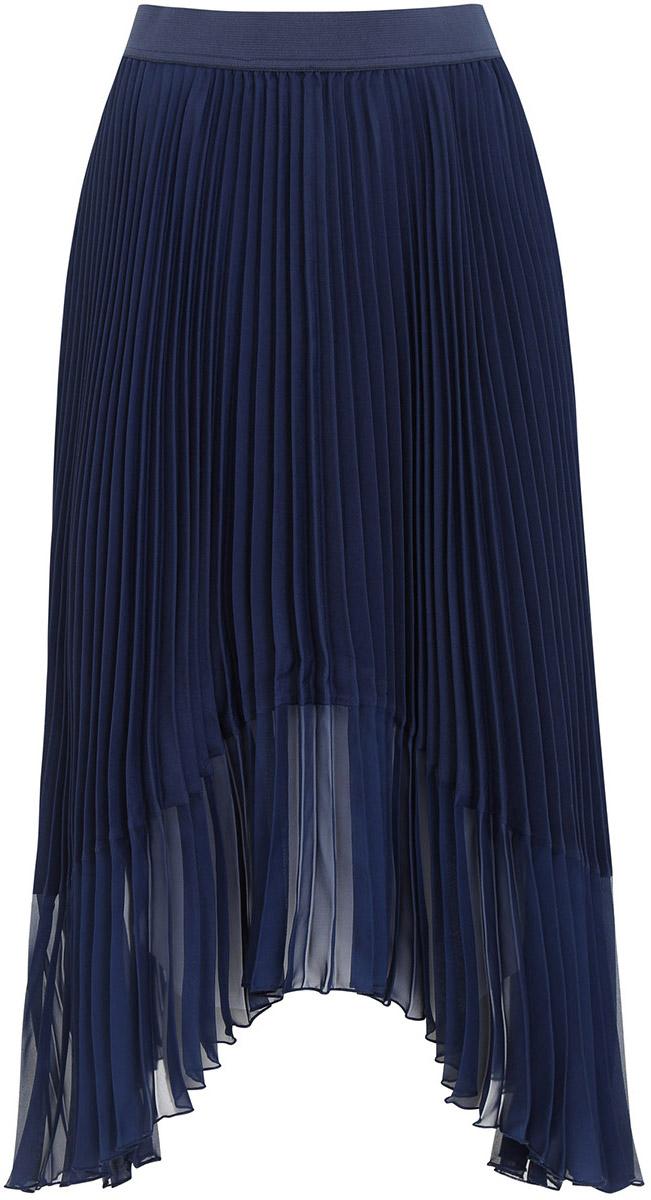 Юбка11606045/26546/7900NГофрированная юбка с асимметричным низом выполнена из высококачественного материала.