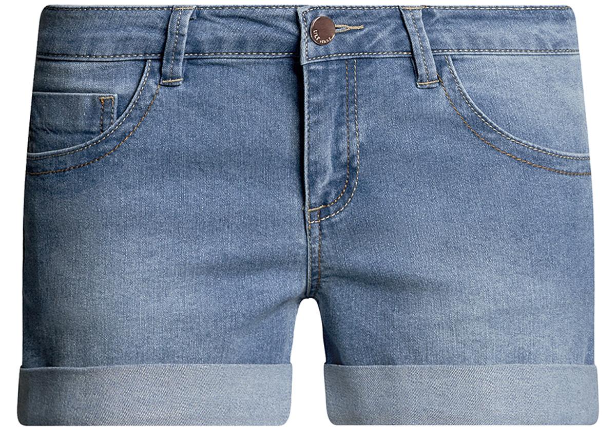 12807025-3B/46253/7900WШорты джинсовые базовые
