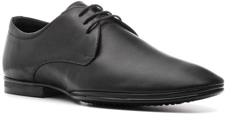 Туфли483106ЧНЛаконичность линий модели Kiev подчеркивает деловой стиль линейки Business, к которой принадлежат эти туфли. Таковой ее делают каблук, резиновая подошва, кожаные подкладка и стелька, хорошо сберегающие тепло. Туфли отлично подойдут для деловой встречи, торжественного события, выхода в ресторан.