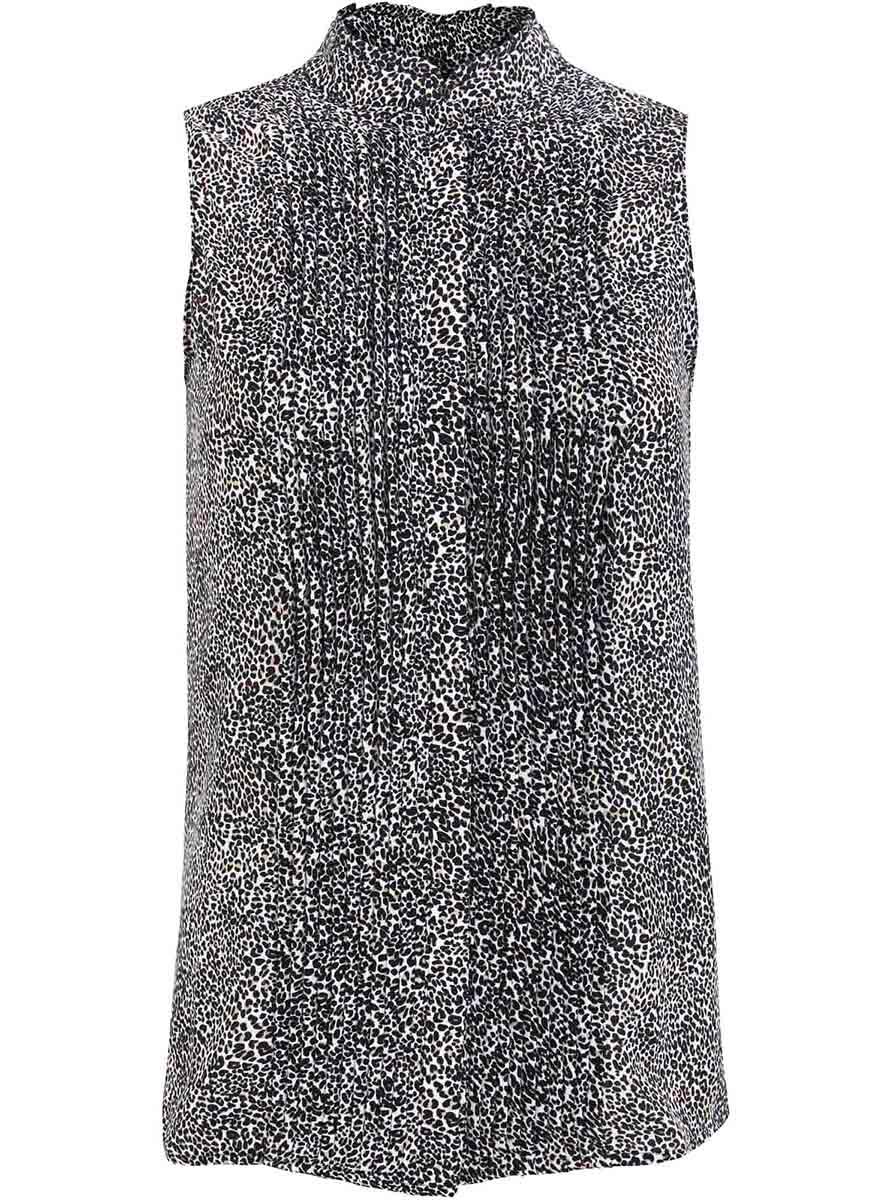 Топ11410017/36215/1229AТоп из струящейся ткани со сборками