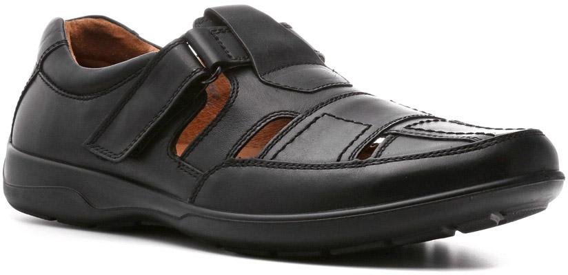 Сандалии582111ТКСандалии Ray линии Weekend — это стиль, прочность, надежность и качество. Великолепной выделки кожа, полиуретановая подошва, стелька Comfort System и отличная вентилируемость обеспечат ноге комфортное пребывание в них целый день. Застежка на липучке подладит крепление к ноге высоким подъемом стопы.