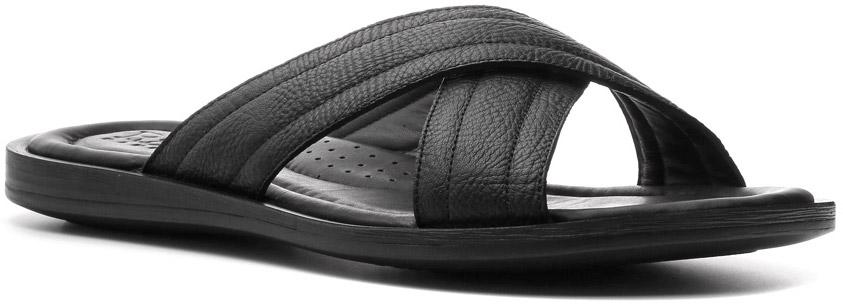 Шлепанцы512001ЧРДля пляжного отдыха самая подходящая обувь — шлепанцы. Модель, напоминающая названием о теплом итальянском острове — Capri — именно та, что пригодится на берегу моря, реки, озера. Качественное изготовление, невесомость, кожаный верх и не убиваемая полиуретановая подошва способны превратить обыкновенные шлепанцы линии Weekend в самые любимые на многие пляжные сезоны.