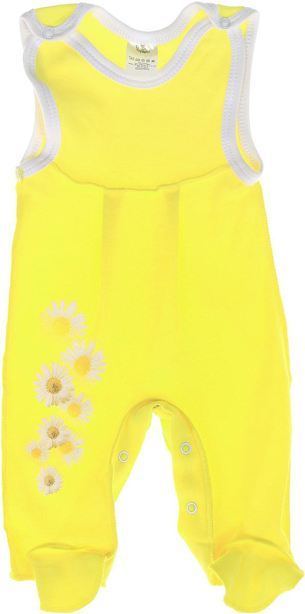 Комбинезон домашний5362Комбинезон для девочки КотМарКот - удобный и практичный вид одежды для ребенка, который идеально подходит для сна и отдыха. Комбинезон выполнен из натурального хлопка, благодаря чему он очень мягкий и приятный на ощупь, не раздражает нежную кожу малышки и хорошо вентилируется. Комбинезон с широкими бретелями на кнопках и закрытыми ножками имеет застежки-кнопки на ластовице до щиколоток, которые помогают легко переодеть младенца или сменить подгузник. Вырез горловины и проймы дополнены мягкой бейкой. Изделие оформлено ромашками с блестками. Комфортный и уютный комбинезон станет незаменимым дополнением к гардеробу вашей маленькой принцессы. Изделие полностью соответствует особенностям жизни младенца в ранний период, не стесняя и не ограничивая его в движениях.