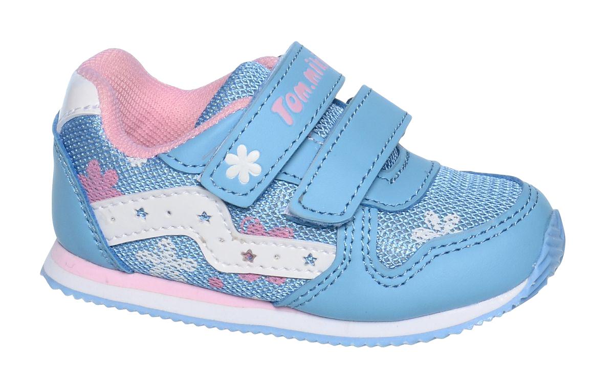 КроссовкиB-1051-BКроссовки для девочки Tom&Miki изготовлены из качественной искусственной кожи и текстиля. Липучки надежно зафиксируют обувь на ноге. Мягкая подкладка выполнена из кожи и текстиля. Подошва оснащена рифлением для лучшего сцепления с различными поверхностями. Такие кроссовки - отличный вариант на каждый день.