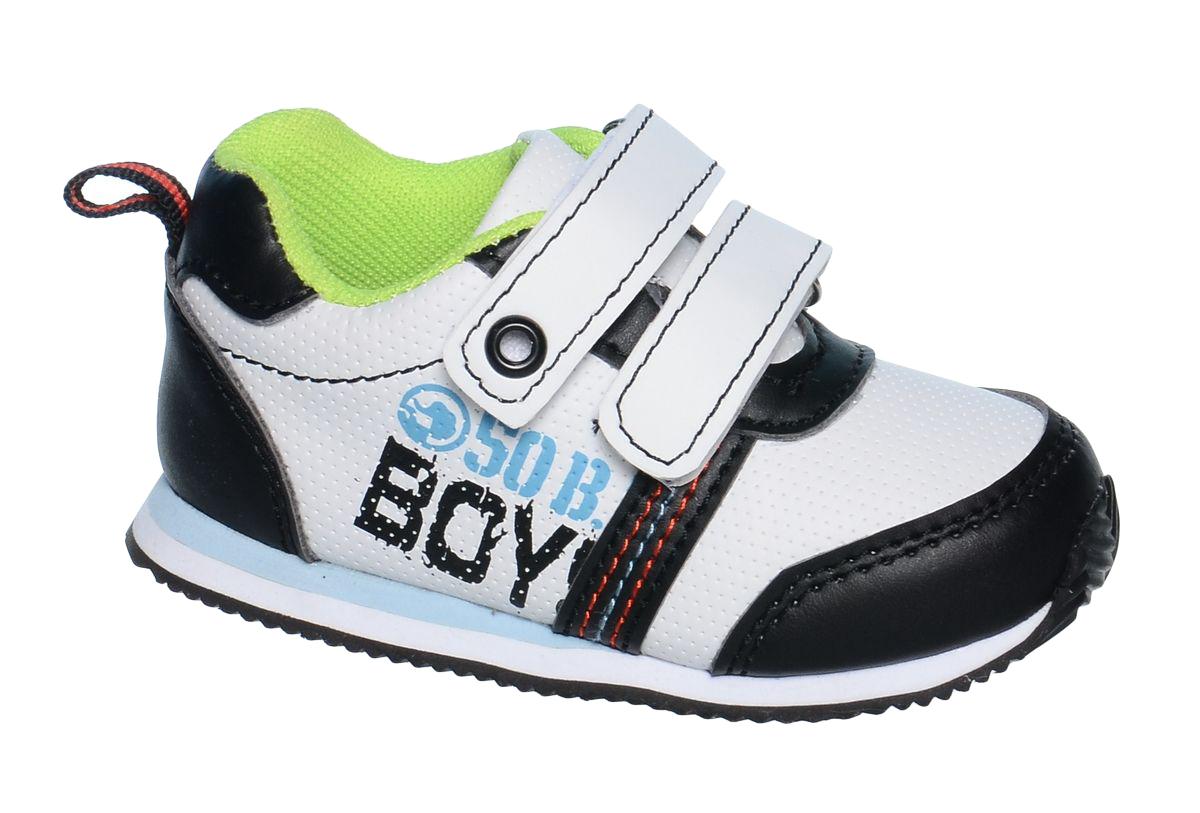 КроссовкиB-1047-AКроссовки для мальчика Tom&Miki изготовлены из качественной искусственной кожи. Липучки надежно зафиксируют обувь на ноге. Мягкая подкладка выполнена из кожи и текстиля. Подошва оснащена рифлением для лучшего сцепления с различными поверхностями. Такие кроссовки - отличный вариант на каждый день.