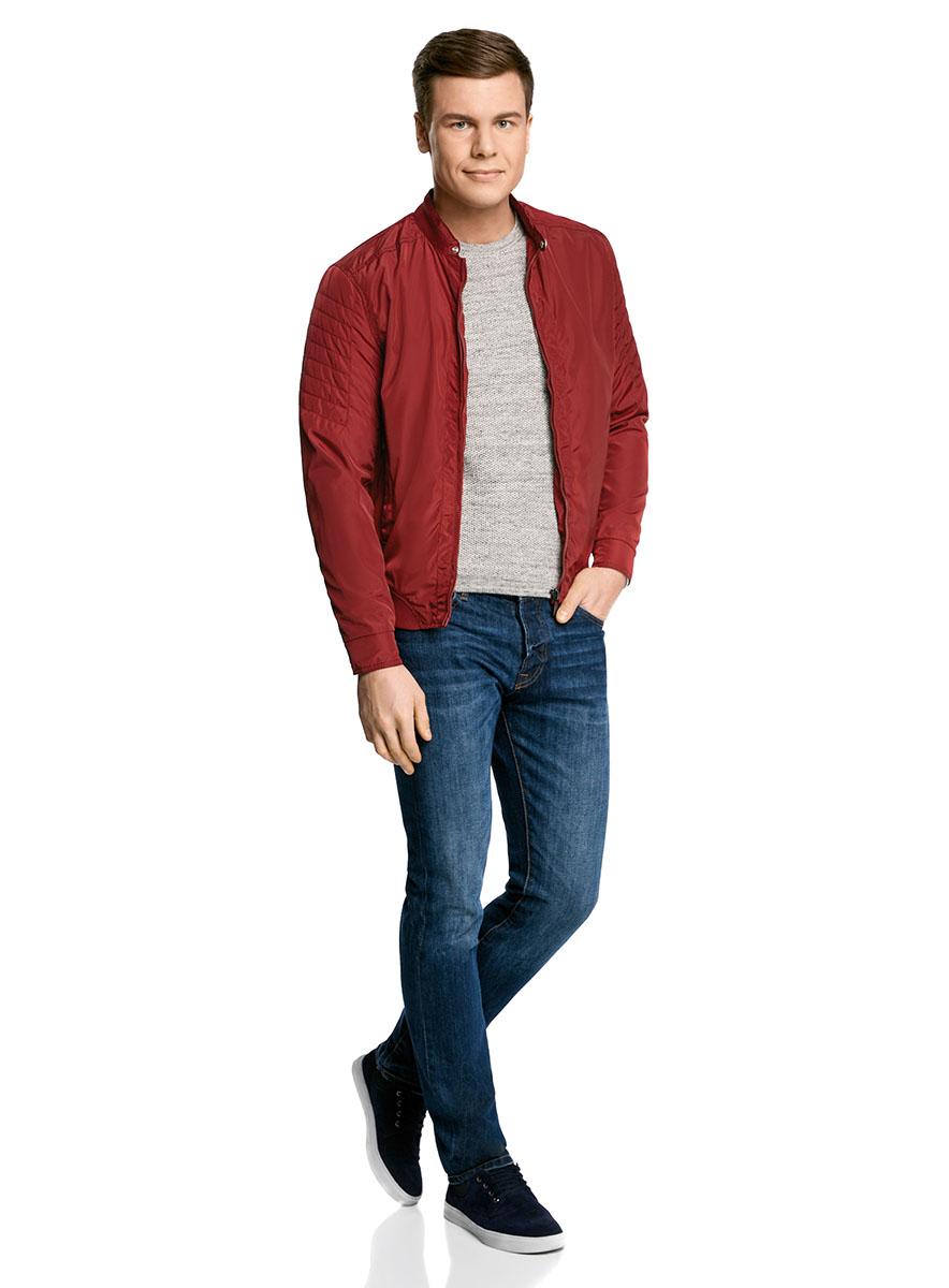 Куртка1L511047M/46343N/4500NКуртка на молнии с эластичными вставками