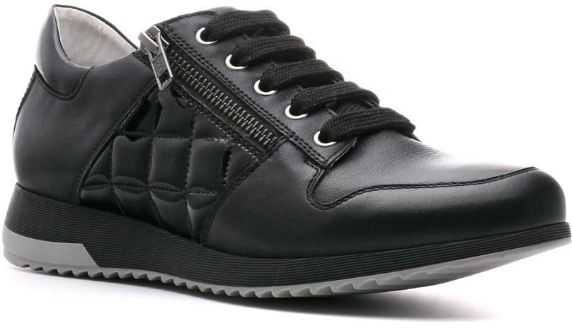 Кроссовки711103ПБВ гардеробе современной женщины должна быть обувь спортивного типа, отвечающая самым высоким требованиям к комфорту, качеству, стилю и надежности. Демисезонные кроссовки Jole — именно такие. Классические линии, шнуровка, молния вдоль нее, прошитая подушечками вставка, высокий задник, долговечная не скользкая подошва делают их заметными в практичной линии Weekend.