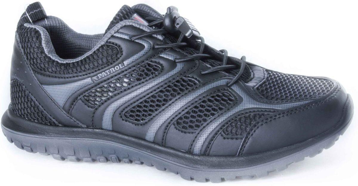 Кроссовки432-718T-17s-01/8-1Стильные мужские кроссовки от Patrol не оставят вас равнодушным! Модель выполнена из искусственной кожи со вставками из дышащего текстиля. Эластичная шнуровка со стоппером на подъеме надежно зафиксирует обувь на ноге. Текстильный ярлычок на заднике облегчает обувание. Мягкая текстильная стелька и подкладка обеспечат комфорт при носке и исключат натирание. Прочная и легкая подошва из пенопропилена, дополненная рифлением, обеспечит идеальное сцепление с любой поверхностью. Удобные кроссовки отлично подойдут для прогулок или дальних поездок.