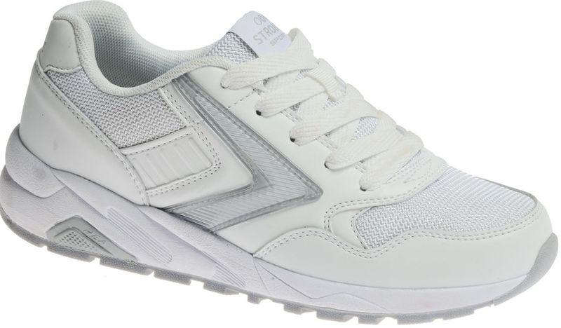 КроссовкиF6480-6Стильные женские кроссовки Strobbs отлично подойдут для активного отдыха и повседневной носки. Верх модели выполнен из текстиля и натуральной кожи. Удобная шнуровка надежно фиксирует модель на стопе. Подошва обеспечивает легкость и естественную свободу движений. Мягкие и удобные, кроссовки превосходно подчеркнут ваш спортивный образ и подарят комфорт.