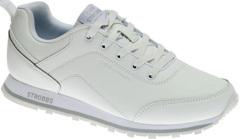 КроссовкиC2450-6Стильные мужские кроссовки Strobbs отлично подойдут для активного отдыха и повседневной носки. Верх модели выполнен из искусственной кожи. Удобная шнуровка надежно фиксирует модель на стопе. Подошва обеспечивает легкость и естественную свободу движений. Мягкие и удобные, кроссовки превосходно подчеркнут ваш спортивный образ и подарят комфорт.