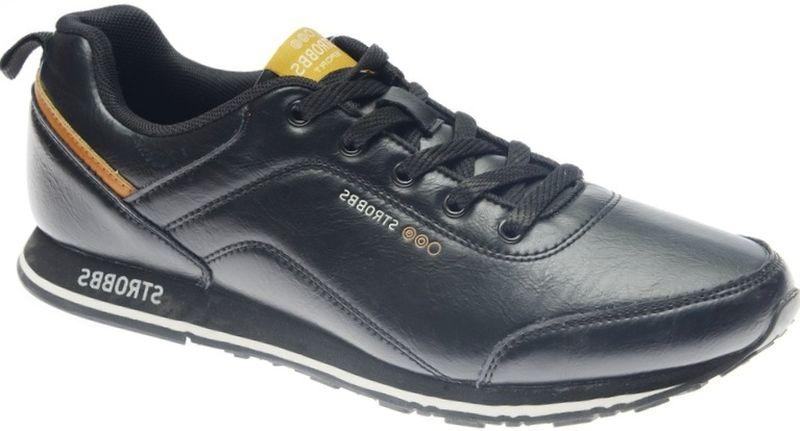 КроссовкиC2450-3Стильные мужские кроссовки Strobbs отлично подойдут для активного отдыха и повседневной носки. Верх модели выполнен из комбинации искусственной и натуральной кожи. Удобная шнуровка надежно фиксирует модель на стопе. Подошва обеспечивает легкость и естественную свободу движений. Мягкие и удобные, кроссовки превосходно подчеркнут ваш спортивный образ и подарят комфорт.