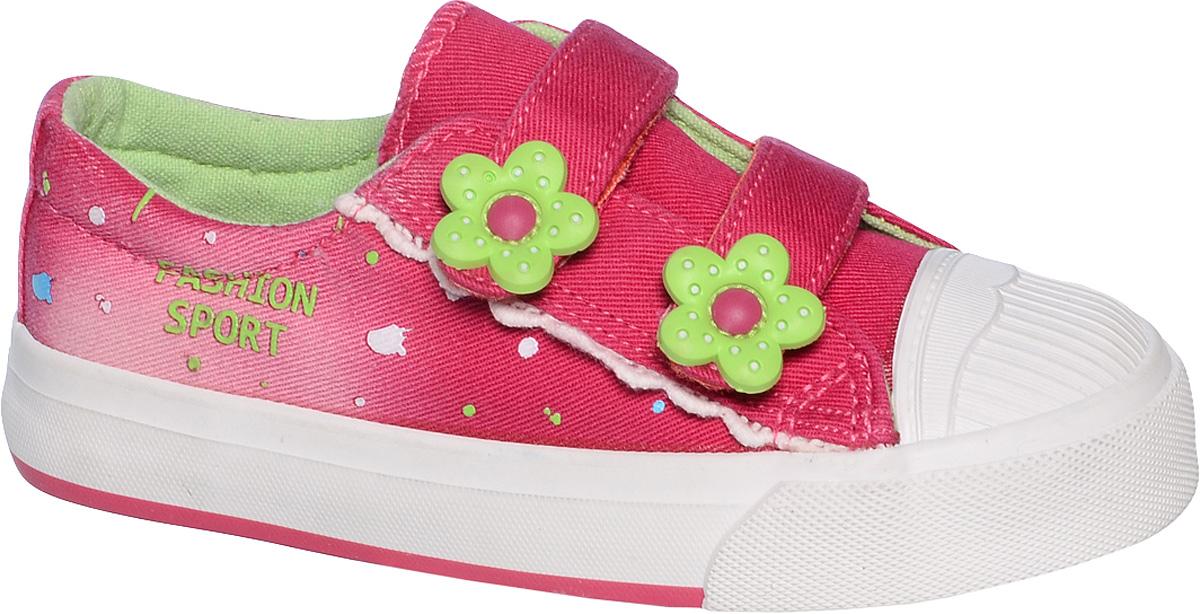 КедыB-0425-EКеды для девочки Tom&Miki изготовлены из качественного текстиля. Модель оформлена оригинальным принтом и дополнена на мыске практичной прорезиненной накладкой. Липучки надежно зафиксируют обувь на ноге. Мягкая подкладка выполнена из текстиля. Такие кеды - отличный вариант на каждый день.