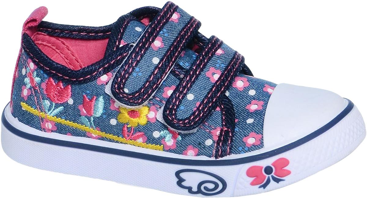 КедыB-0923Кеды для девочки Tom&Miki изготовлены из качественного текстиля. Модель оформлена оригинальным принтом и дополнена на мыске практичной прорезиненной накладкой. Липучки надежно зафиксируют обувь на ноге. Мягкая подкладка выполнена из кожи и текстиля. Такие кеды - отличный вариант на каждый день.