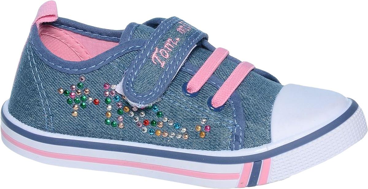 КедыB-0935-AКеды для девочки Tom&Miki изготовлены из качественного текстиля. Модель оформлена оригинальным принтом и дополнена на мыске практичной прорезиненной накладкой. Обувь декорирована яркими стразами. Липучка и эластичные резинки надежно зафиксируют обувь на ноге. Мягкая подкладка выполнена из кожи и текстиля.