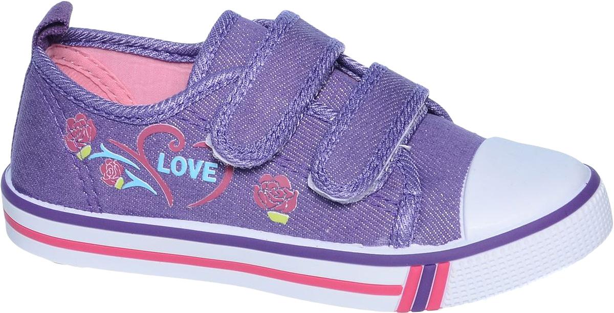 КедыB-0936-EКеды для девочки Tom&Miki изготовлены из качественного текстиля. Модель оформлена оригинальным принтом и дополнена на мыске практичной прорезиненной накладкой. Липучки надежно зафиксируют обувь на ноге. Мягкая подкладка выполнена из кожи и текстиля. Такие кеды - отличный вариант на каждый день.
