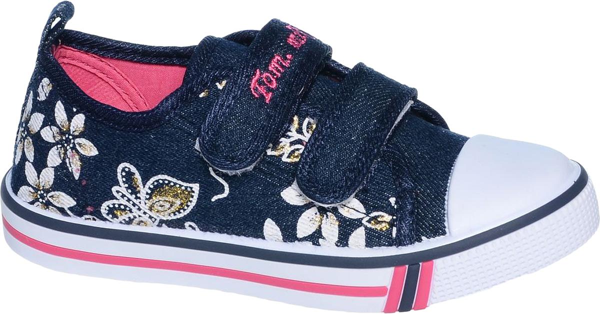 КедыB-0939-AКеды для девочки Tom&Miki изготовлены из качественного текстиля. Модель оформлена оригинальным принтом и дополнена на мыске практичной прорезиненной накладкой. Липучки надежно зафиксируют обувь на ноге. Мягкая подкладка выполнена из кожи и текстиля.