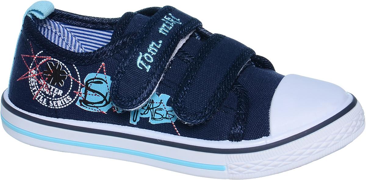 КедыB-0995-AКеды для мальчика Tom&Miki изготовлены из качественного текстиля. Модель оформлена оригинальным принтом и дополнена на мыске практичной прорезиненной накладкой. Липучки надежно зафиксируют обувь на ноге. Мягкая подкладка выполнена из кожи и текстиля. Такие кеды - отличный вариант на каждый день.