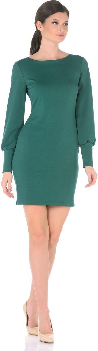 3187-51Создавать женственные образы каждый день легко, если в Вашем гардеробе есть это повседневное платье от Rosa Blanco. Нарочито лаконичная модель полуприталенного силуэта с классическим вырезом-лодочкой, искусно обрисовывающая изящные изгибы фигуры, приобретает особую выразительность благодаря длинным рукавам расширенным к низу со сборкой по широкой манжете. В области груди вытачки для оптимальной посадки по фигуре. Дополняя платье различными аксессуарами, можно легко трансформировать повседневный наряд в вечерний. Длина изделия 92-95 см. Ткань плотный трикотаж с высоким содержанием вискозы. Состав ткани: 78% вискоза, 19% полиэстер, 3% эластан. Рост модели на фото 170 см (+ каблук).