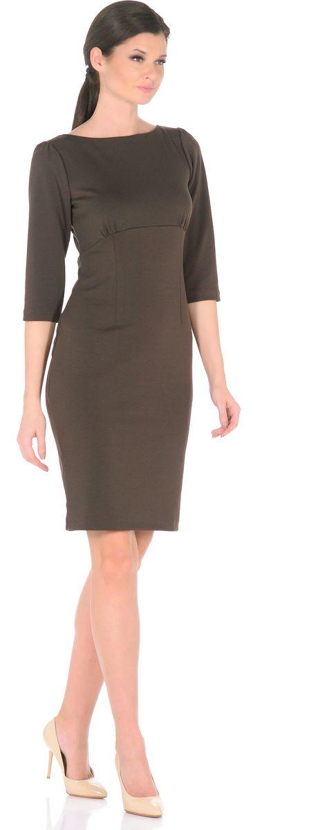 Платье3193-26Платье от Rosa Blanco представит Вашу фигуру в наиболее выгодном свете. Крой с тальевыми вытачками выделяет талию и привлекательные изгибы силуэта, а специальный подрез под грудью со сборкой заботится об оптимальной посадке. Материал стрейч с высоким содержанием вискозы прекрасно сидит, обеспечивая комфорт. Для наибольшего комфорта сзади капелька с застежкой на пуговице и шлица. Рукава ?. Дополняя платья различными аксессуарами, можно легко трансформировать повседневный наряд в вечерний. Состав ткани: 78% вискоза, 19% полиэстер, 3% эластан. Рост модели на фото 170 см (+ каблук).